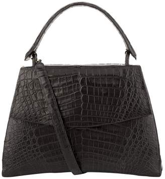 Nancy Gonzalez Divino Crocodile Flap Tote