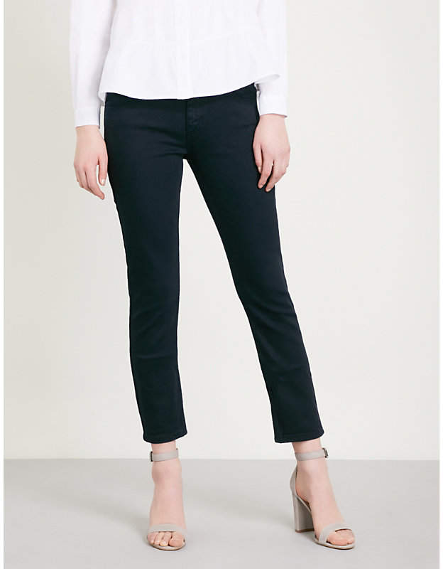 Papaye high-rise straight jeans