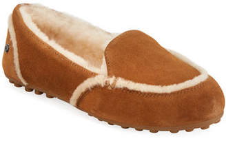 363bd9e3b0eda8 at Neiman Marcus · UGG Hailey Shearling Slippers