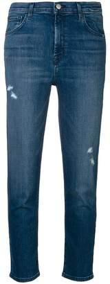 J Brand skinny cropped cigarette jeans