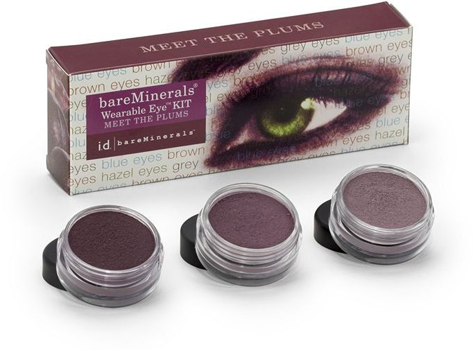 BareMinerals Eye Collections Meet the Plums ($36 Value!) 1 kit
