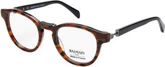 Balmain BL1078 Brown & Black Round Optical Frames