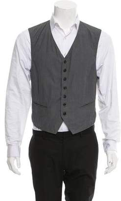 Maison Margiela Plaid Suit Vest