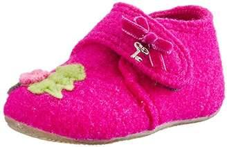 Living Kitzbühel Bambi With Velcro, baby-girls Walking Baby Slippers,8.5 Child UK (26 EU (8.5 Baby UK) EU)
