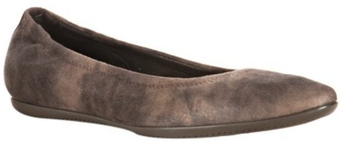 Donald J. Pliner taupe distressed 'Hywei' flats