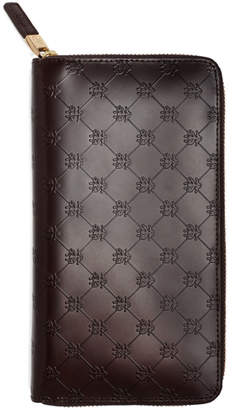 Brooks Brothers Golden Fleece Embossed Travel Wallet