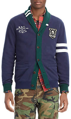 Ralph Lauren Polo Jersey Cardigan, Cruise Navy