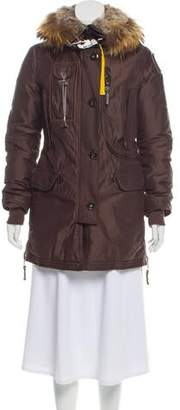 Parajumpers Fur-Trimmed Down Coat