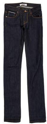 E + J Baldwin The EJ Mid-Rise Straight-Leg Jeans