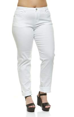 V.I.P.JEANS Junior's Tall Plus Size Jeans for Women Mid Rise Skinny Color Options