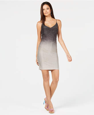 B. Darlin Juniors' Metallic Ombré Dress