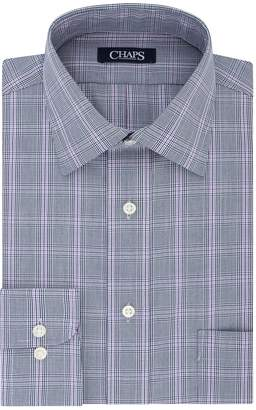 Chaps Men's Regular-Fit No-Iron Stretch Spread-Collar Dress Shirt