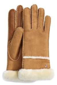 UGG Seamed Tech Sheepskin Gloves