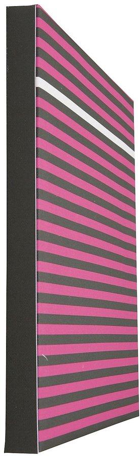 giggledots Color Pop Stripes Mix & Match Canvas Print