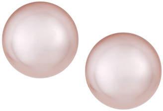 Majorica 6mm Simulated Pearl Stud Earrings, Pink