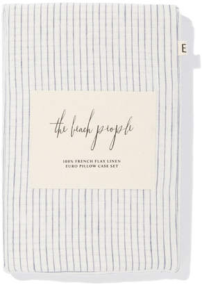 The Beach People French Linen Pillowcase Set