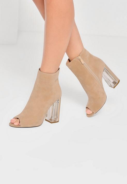 Nude Peep Toe Shoes - ShopStyle Australia