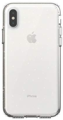 Speck Clear\u002FGold iPhone XS\u002FX Presidio Case