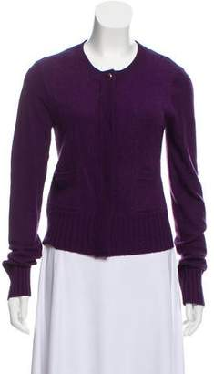 Diane von Furstenberg Lightweight Wool-Blend Cardigan