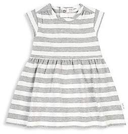 Miles Baby Miles Baby Baby& Little Girl's Stripe Knit A-Line Dress