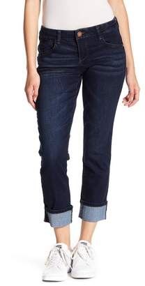 "Wit & Wisdom 26\"" Uncuffed 29 Flex Ellen Bootcut Leg Jeans (Petite)"
