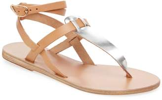 Ancient Greek Sandals Women's Estia Ankle-Wrap Thong Sandal