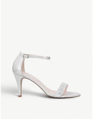 Carvela Kink gemstone-embellished textile sandals