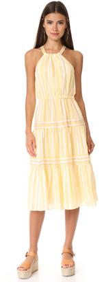 Rebecca Taylor Sleeveless Yarn Dye Stripe Dress $395 thestylecure.com