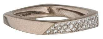 Tiffany & Co. 18K Diamond Frank Gehry Torque Ring