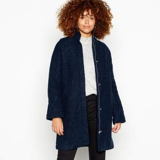 Minimum Navy High Neck 'Palma' Coat