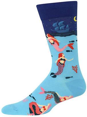 Hot Sox Mermaids Crew Socks