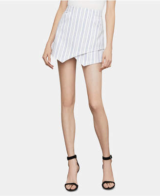 BCBGMAXAZRIA Asymmetrical Mini Skirt