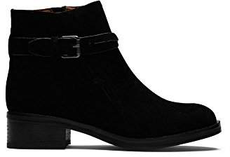Gentle Souls by Kenneth Cole Women's Percy Ankle Bootie with Buckle Detail Boot