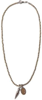 Bottega Veneta Point-pendant necklace