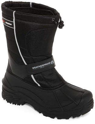 Weatherproof Mens Snowbird Ii Winter Boots Water Resistant Insulated Elastic