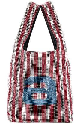 Alexander Wang crystal-embellished tote bag