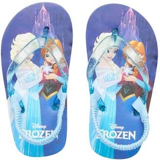 Disney Disney's Frozen Elsa & Anna Thong Flip Flop Sandals
