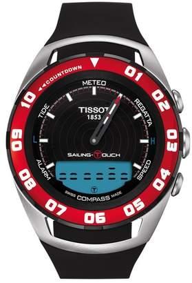 Tissot Men's T-Touch Sailing Swiss Quartz Sport Watch, 45mm