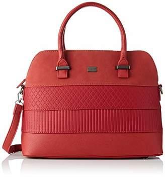David Jones Women S Cm3975 Bright Red Top Handle Bag