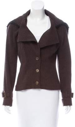 John Galliano Woven Wool Jacket