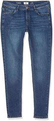 Q/S designed by Women's 41.902.71.2853 Skinny Jeans Blue 57z6, (Size: 32/L30)