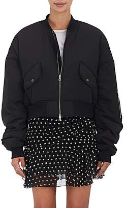 BLINDNESS Women's Pierced Insulated Bomber Jacket