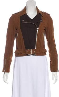 AllSaints Suede Moto Jacket