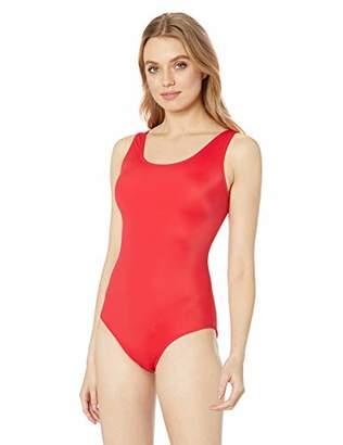Amazon Essentials Women's One Piece Coverage Swimsuit