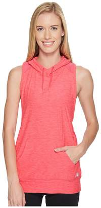 New Balance Hooded Tank Top Pullover Women's Sleeveless