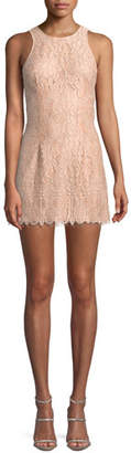 NBD Brianna Lace Mini Dress w/ Cutout