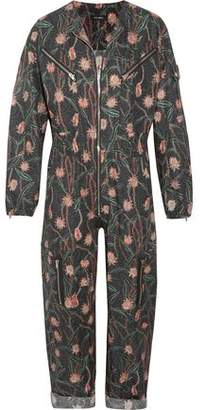 Isabel Marant Laney Floral-Print Cotton And Linen-Blend Jumpsuit