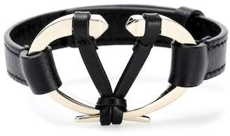 Valentino leather bracelet