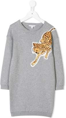 Little Marc Jacobs leopard sweatshirt dress