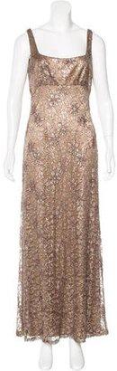 Carmen Marc Valvo Lace Evening Dress $225 thestylecure.com